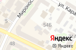 Схема проезда до компании Райские Каникулы в Харькове