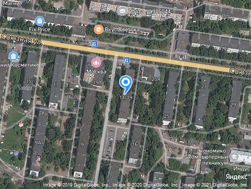 Аренда 3-комнатной квартиры, 60 м², Курск