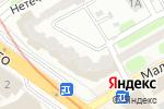 Схема проезда до компании ТЭД-Сервис в Харькове