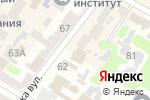 Схема проезда до компании Есин в Харькове