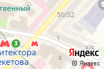 Схема проезда до компании Идея Банк, ПАО в Харькове