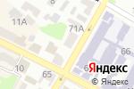 Схема проезда до компании Pole Dance Room в Харькове