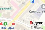 Схема проезда до компании Menta Floral Design в Харькове