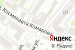 Схема проезда до компании Дагаз в Калуге
