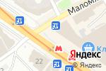 Схема проезда до компании Модница в Харькове