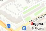 Схема проезда до компании Wow в Харькове