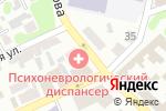 Схема проезда до компании Областной психоневрологический диспансер в Харькове
