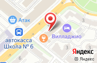 Схема проезда до компании Агентство «Сентябрь» в Калуге