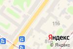 Схема проезда до компании Bogner в Харькове