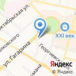 Медицинский кабинет Агеносова М.В. на карте Калуги