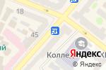 Схема проезда до компании Morento в Харькове