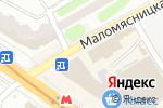 Схема проезда до компании Мясной мир в Харькове