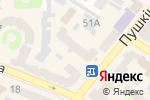 Схема проезда до компании Арбуз-Маркет в Харькове