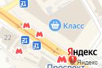 Схема проезда до компании Мастер-АС в Харькове