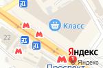 Схема проезда до компании Привітна пекарня Ola в Харькове