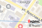 Схема проезда до компании Big Bang English Space в Харькове