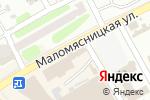 Схема проезда до компании Miparti в Харькове