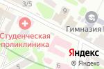 Схема проезда до компании Харківська міська студентська лікарня в Харькове