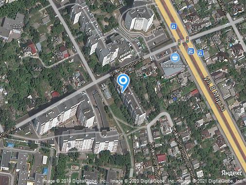 Сдается 2-комнатная квартира, 50 м², Курск, улица Герцена, 2