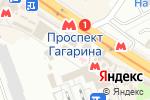 Схема проезда до компании Элина в Харькове