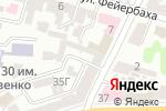Схема проезда до компании Салон красоты Ксении Семеновой в Харькове