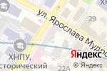 Схема проезда до компании VIP Travel Co в Харькове