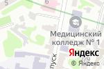 Схема проезда до компании Колор Плюс в Харькове
