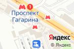 Схема проезда до компании Ютар в Харькове