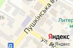 Схема проезда до компании Карандаш.art в Харькове