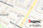 Схема проезда до компании Eltur в Харькове