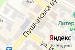 Схема проезда до компании Top Z Brand в Харькове