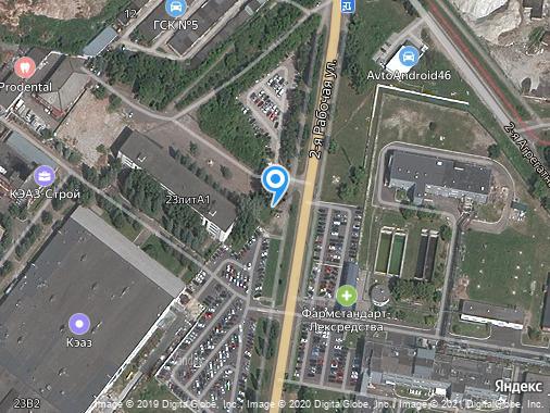 Продам землю промышленного назначения, Курск, 2-я Рабочая улица, 23
