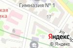 Схема проезда до компании La`chance в Харькове