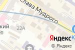 Схема проезда до компании ЯроллеR в Харькове