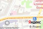 Схема проезда до компании Шиншилка в Харькове