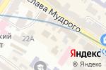 Схема проезда до компании Fashion week в Харькове