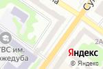 Схема проезда до компании КийАвіа в Харькове