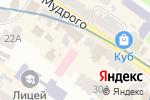 Схема проезда до компании Baby doctor в Харькове