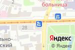Схема проезда до компании Ветеринарный кабинет на Московском в Харькове