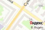 Схема проезда до компании Почтовое отделение №23 в Харькове