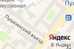 Схема проезда до компании Glamour в Харькове