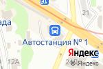 Схема проезда до компании Продовольственный магазин в Харькове