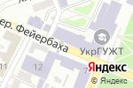 Схема проезда до компании EasyPay в Харькове