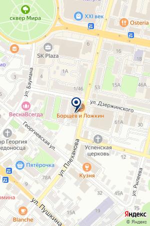 КБ РЕНЕССАНС КАПИТАЛ на карте Калуги