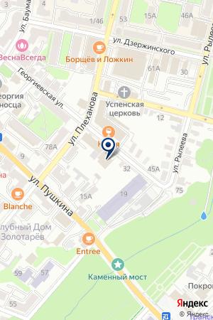 АЗС АЛИЕВ Г.А. на карте Калуги