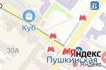 Схема проезда до компании Медвежатники в Харькове