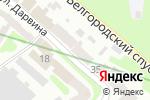 Схема проезда до компании Hyalual в Харькове