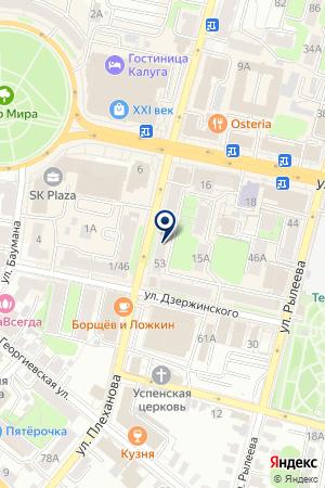 ТПК БОЛДЕНКОВ Р.Г. на карте Калуги