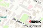Схема проезда до компании Cincinnati в Харькове