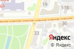 Схема проезда до компании Мотор в Харькове